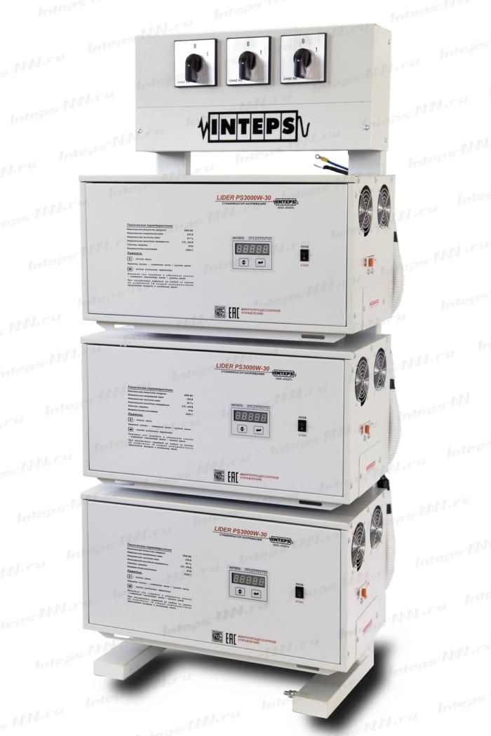 Трехфазный стабилизатор напряжения Lider PS22SQ-25