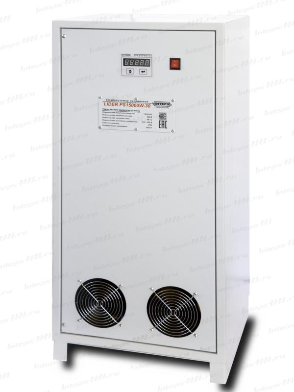 Однофазный стабилизатор напряжения Lider PS7500SQ-C-25