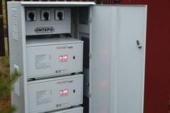Cтабилизатор Lider в металлическом шкафу