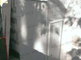 Металлический шкаф с трехфазным стабилизатором Lider напряжения