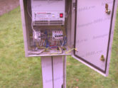 Стабилизатор напряжения Lider - установка рядом с загородным домом