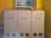 Трехфазный стабилизатор напряжения Lider - установка в коттедже