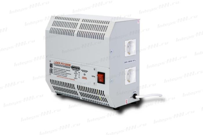 Однофазный стабилизатор напряжения Lider для дома PS1200W-30 220В